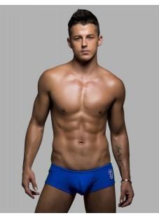 Plavky Andrew Christian Champion Trunk modré